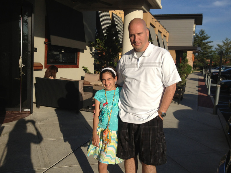 Dinner at Bonefish Grill and dessert at Let's Yo -May 31, 2013 (Pre-birthday celebration)