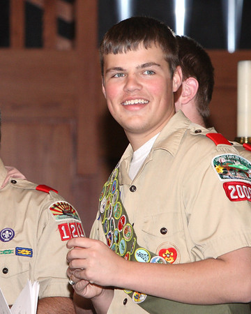 Jimmy Rodgers Eagle Scout Ceremony March 2, 2008