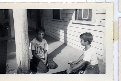Losing at checkers 1953