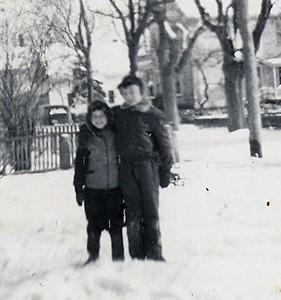 Dick and Mirna circa 1950s