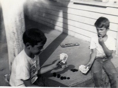 Winning Poker Hand 1953