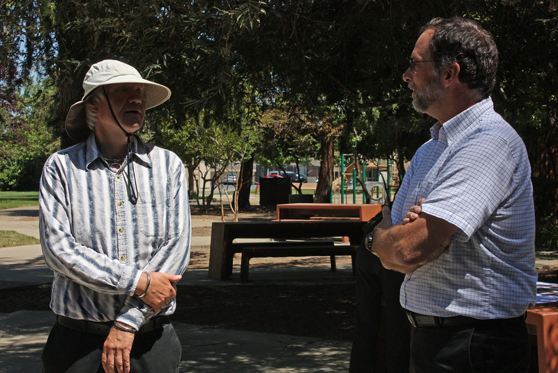 Jim R. with Jim Van De Vreugde