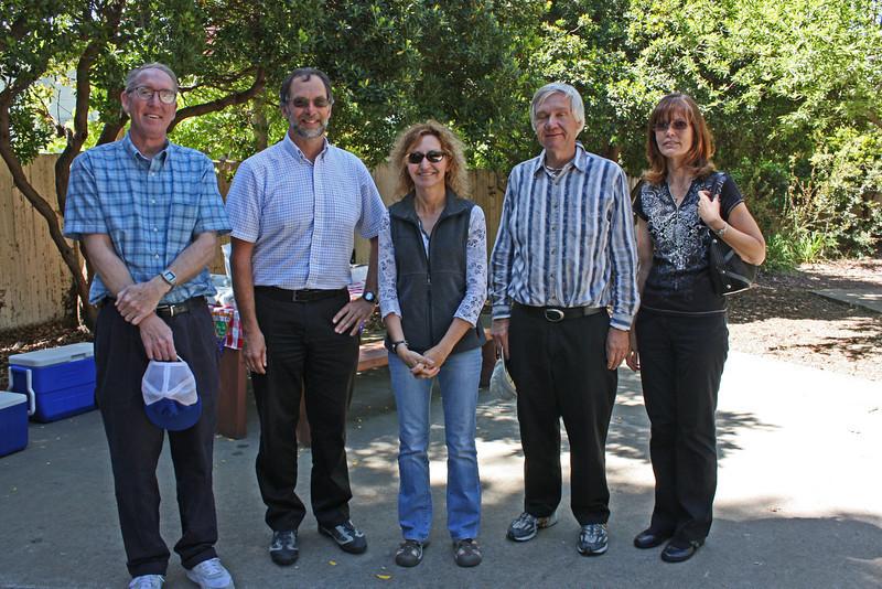 The Walkers - Dave Stimmel, Jim Van De Vreugde, Annette Kitajima, Jim Ringland, Marilyn Hawley