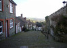 Gold Hill in Shaftesbury...but no Hovis bikes in view.