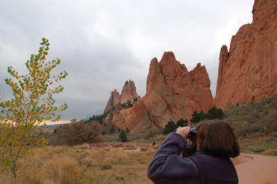 With Joani to Garden of the Gods 10-17-06
