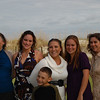 Chrissy, her Mom, step-Mom, sisters and son