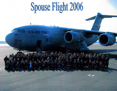 C-17 Spouse Flight 2006