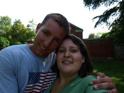 Joe and Tiffany flight to Virginia in June 08