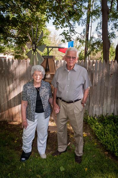Joe & Jeri Oswalt, 60th Anniversary, 6-29-2013