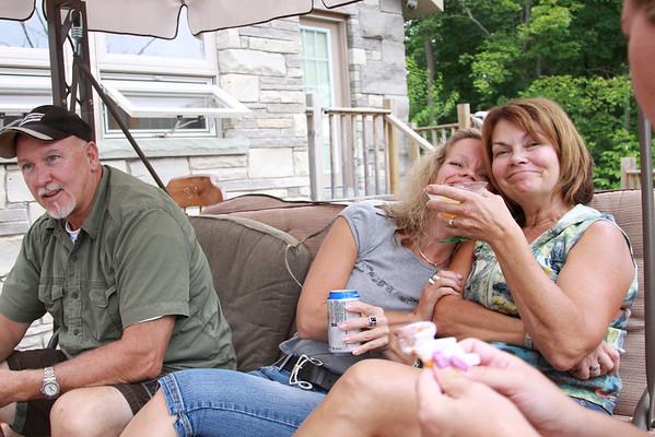 Joe & Val's - Sadie, Paul & Andrea July 2010