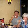 2005 Enjoying the dessert Tres Leches at Rosti Pollos restaurant in Costa Rica