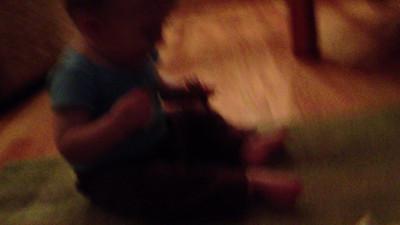 Joel dancing