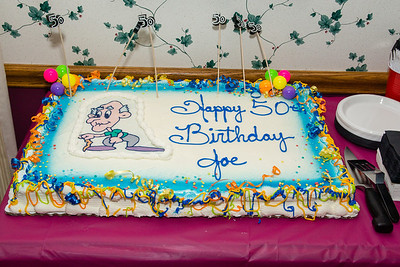 Joe's Surprise 50th