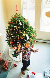 Mom, Christmas morning in Schwenksville, PA, 2003 or 4?