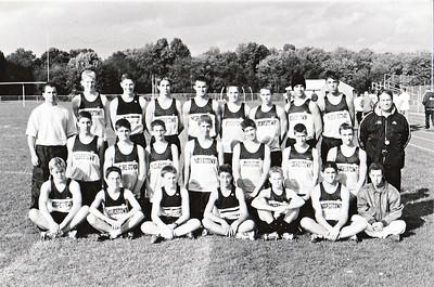 Spring track team, 2001