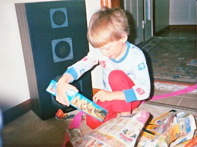joe with legos
