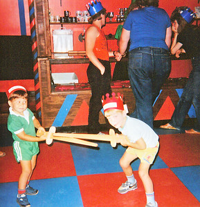 Swordfighting with Pat at Medieval Times