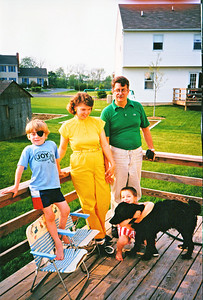Hanlons around 1987-88 in Macungie, PA