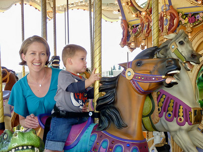 The carousel at the Nut Tree