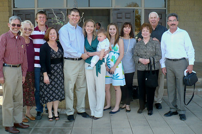 Family for Joey's big day