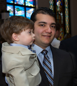 Joey's Baptism Visit and Party