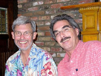 Joey and John