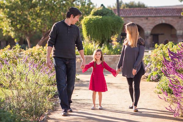 John, Amanda and Lauren 2016