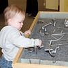 Future engineer?<br /> Calvin at World of Wonder Children's Museum