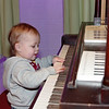 Future musician?<br /> Calvin at World of Wonder Children's Museum
