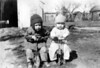 February 1931 - Two small riders