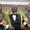 With BB King.  (!!!)