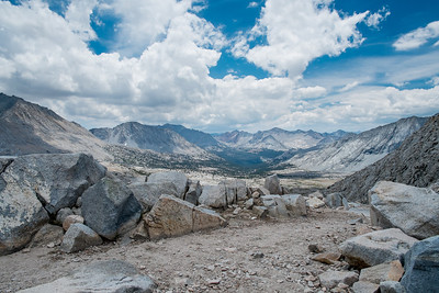 Upper Basin on the south side of Mather Pass