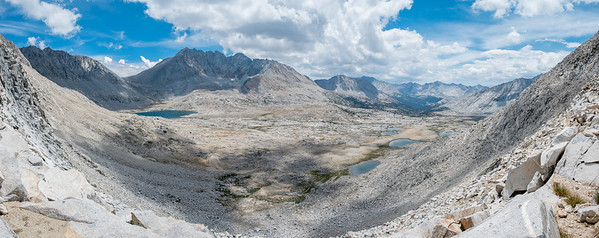 Looking down on Upper Basin