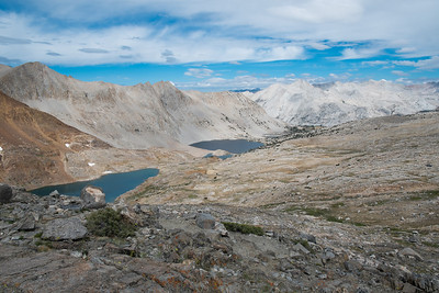 The view north from Pinchot Pass