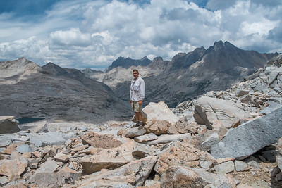 Yours truly on Mather Pass