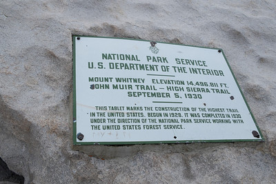 THE official end of the John Muir Trail
