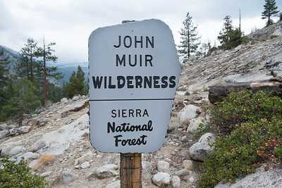 They seem to kind of call everything around here the John Muir Wilderness
