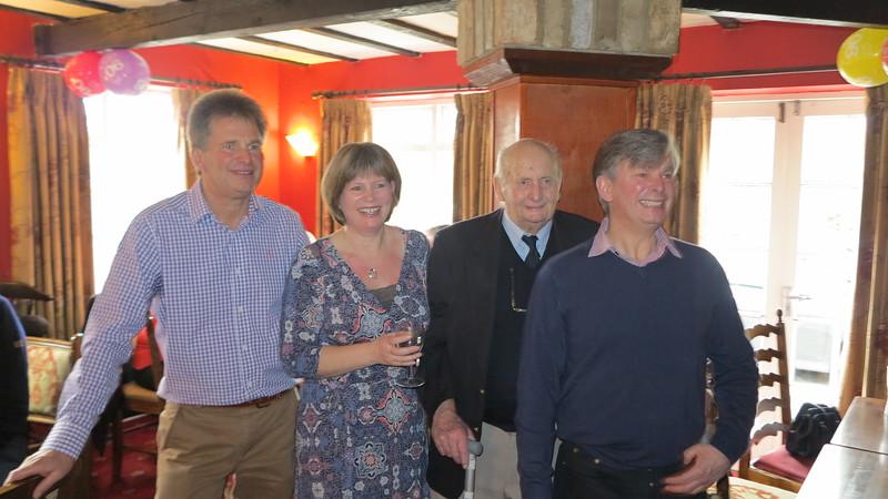 Michael, Diane, John & Nick