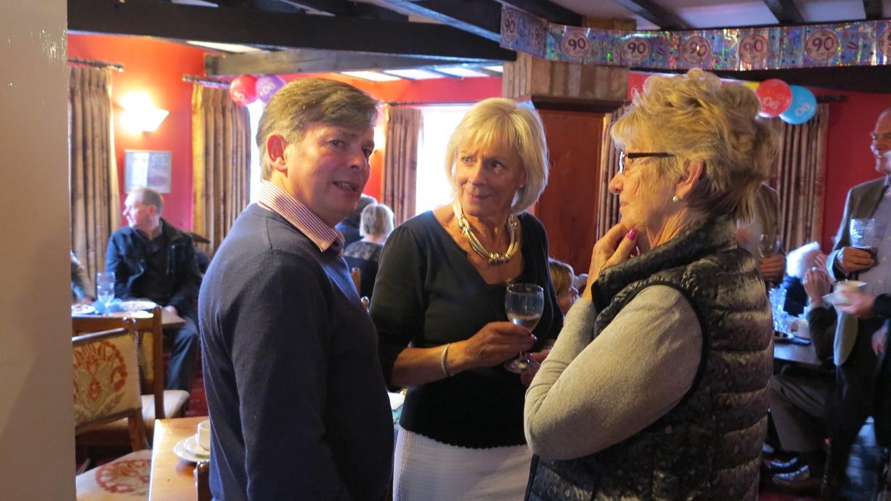 Nick, Angela & Pat