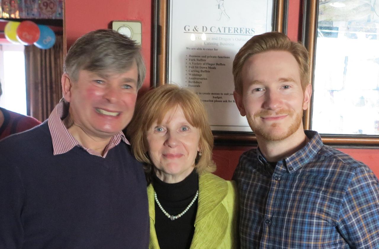 Nick, Kay & Eddie