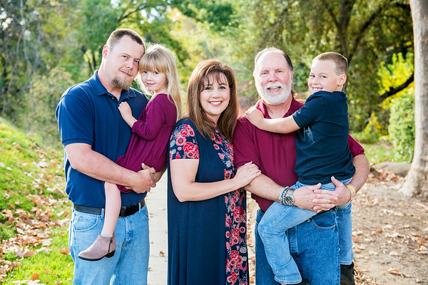John and Angie Family Portraits