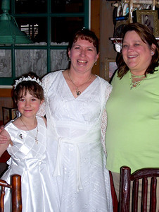 First Communion celebration for Rachel and Tracy