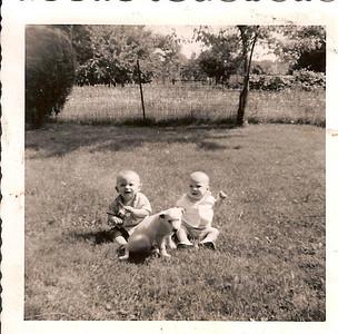 John & Cousin Ron at 4 months