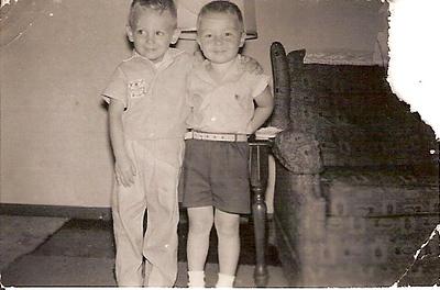 John & Cousin Rick 4 Years
