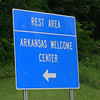 Entering Arkansas on US71