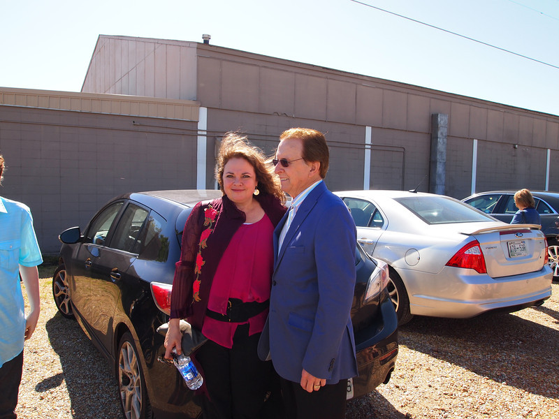 Tara Cash Schwoebel and Tommy Cash