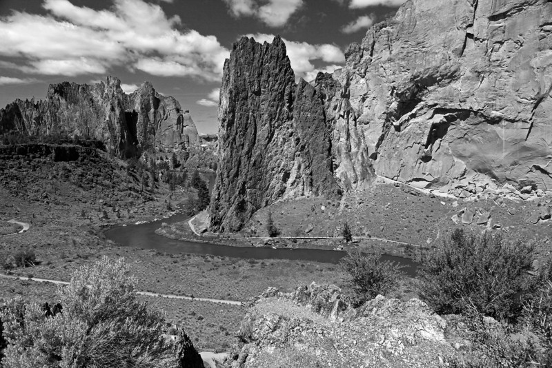 Smith Rock State Park, Central Oregon.
