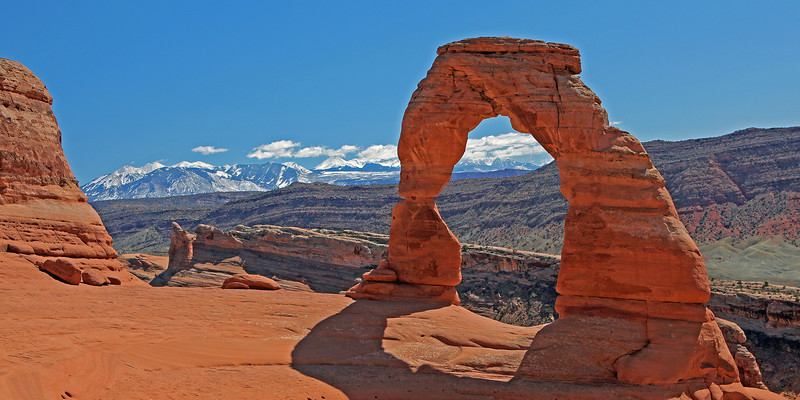 Delicate Arch in Arches National Park.