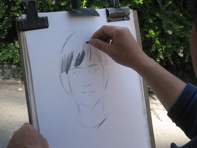 John's life sketch July 2008