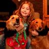 Wolfie, Alicia, and Annie